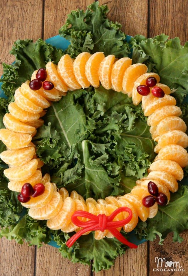 Orange Cranberry Wreath   NoBiggie.net
