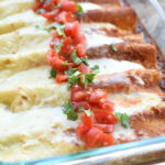 Red and Green Enchiladas | NoBiggie.net