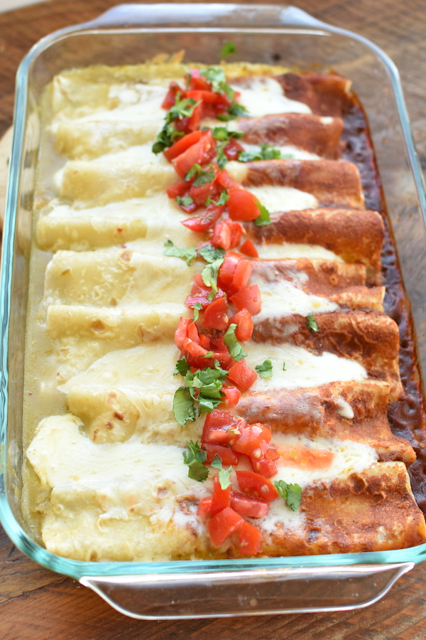 green and red enchiladas | NoBiggie.net