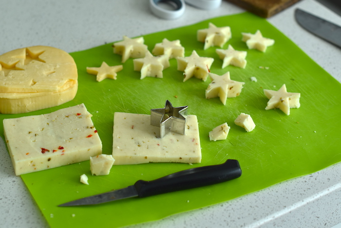 star shaped cheese | NoBiggie.net