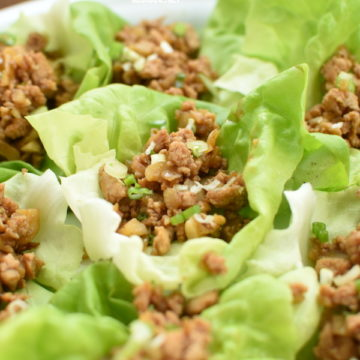 asian chicken lettuce wraps | NoBiggie.net