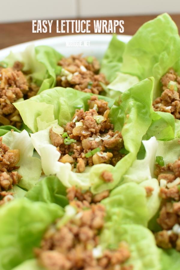 asian chicken lettuce wraps | NoBiggie.net