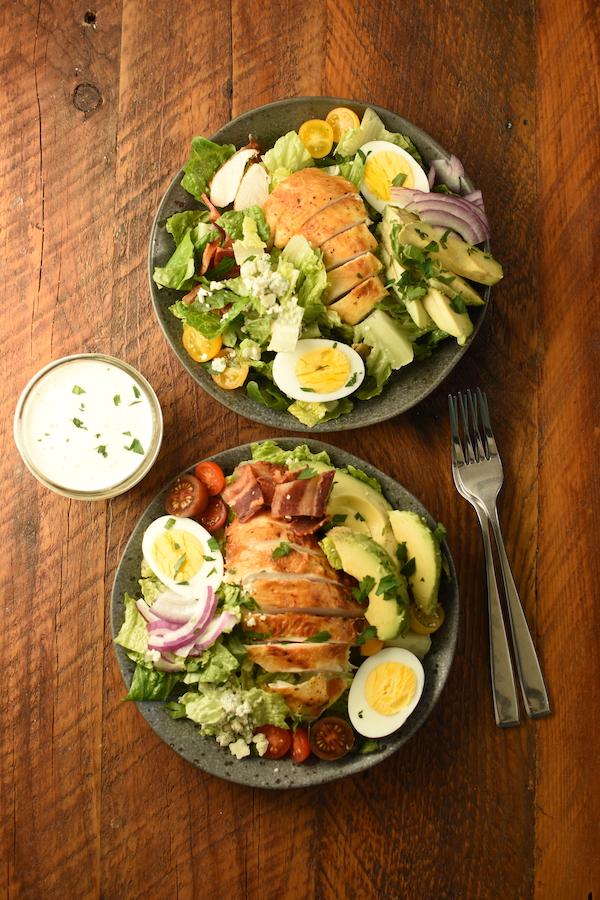 easy Cobb salad | NoBiggie.net
