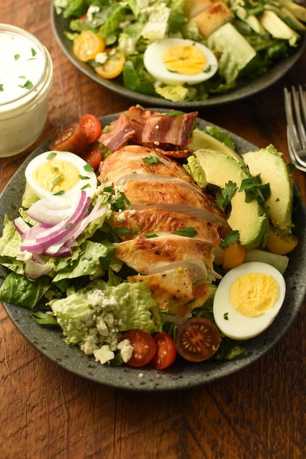 make ahead Cobb Salad | NoBiggie.net