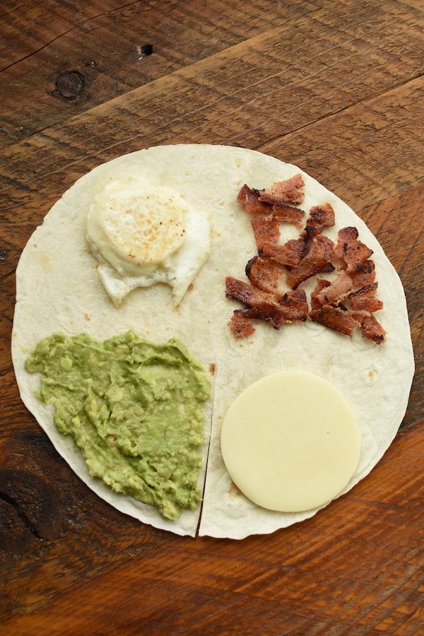 breakfast tortilla wrap trend