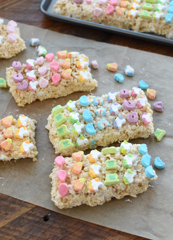 lucky charms marshmallow treats | NoBiggie.net