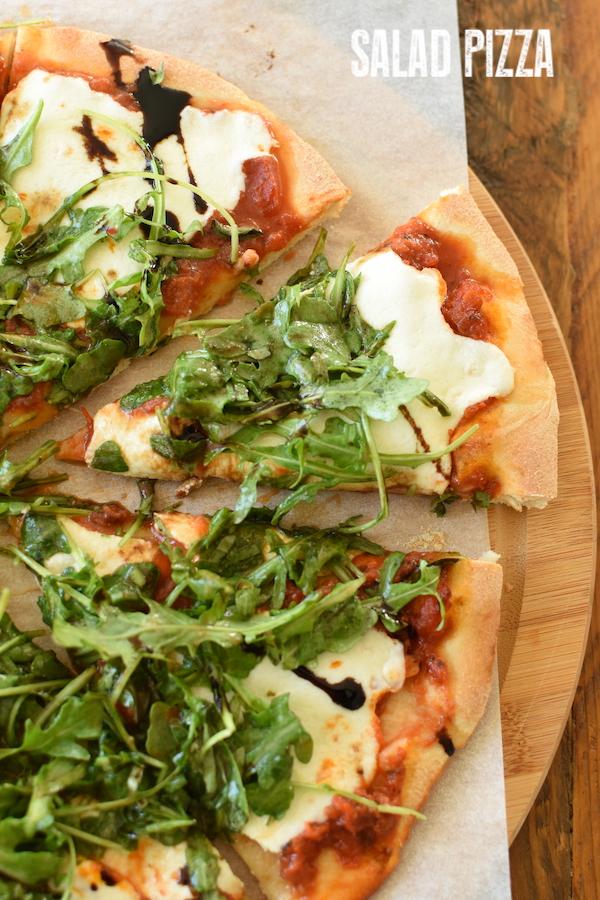 Salad Pizza | NoBiggie.net