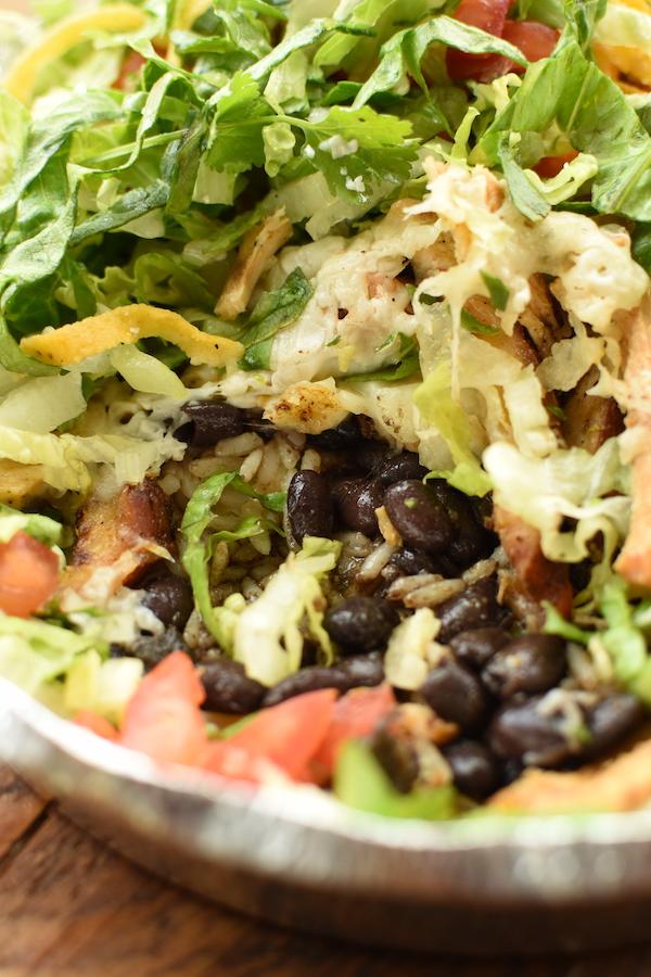 Cafe Rio Salad