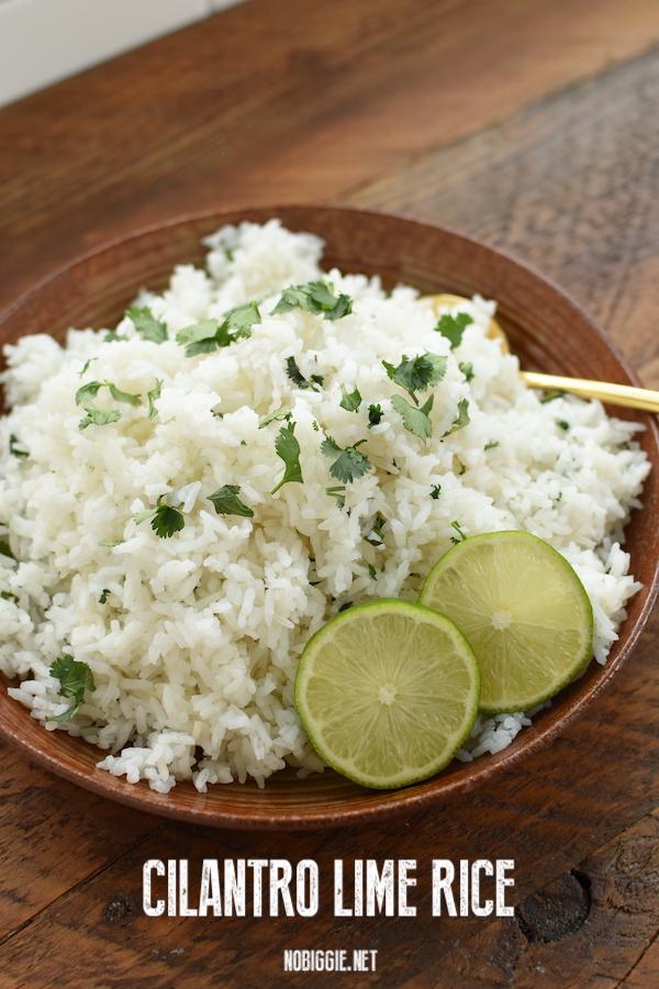 cilantro lime rice | NoBiggie.net