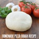 homemade pizza dough recipe | NoBiggie.net