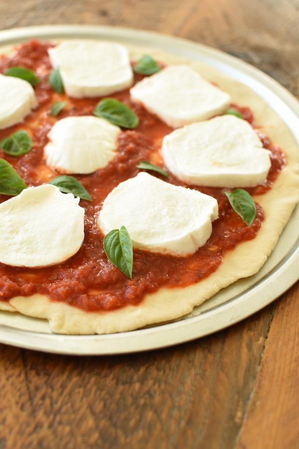 margarita style pizza | NoBiggie.net