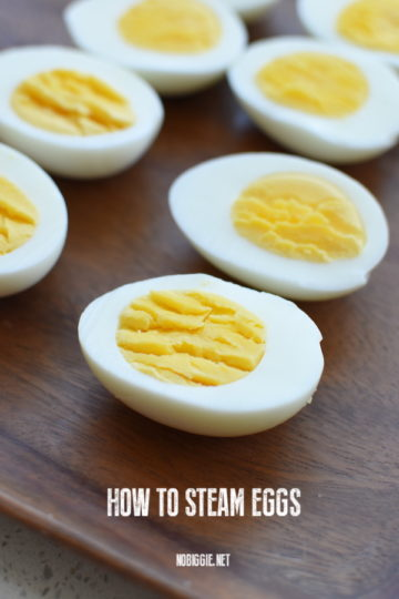 how to steam eggs | NoBiggie.net