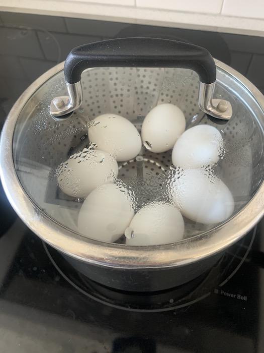 steaming eggs   NoBiggie.net