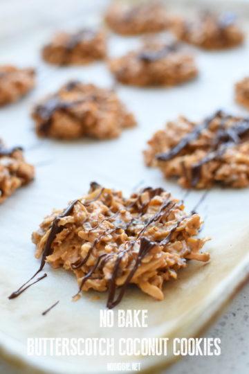 no bake butterscotch cookies | NoBiggie.net
