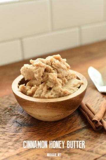 Cinnamon Honey Butter (copycat recipe) | NoBiggie.net