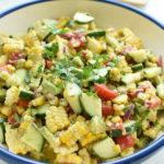 Easy corn tomato avocado salad | NoBiggie.net