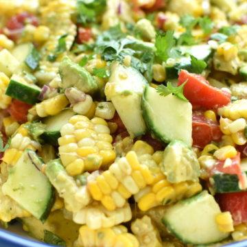 Fresh Corn Salad   NoBiggie.net