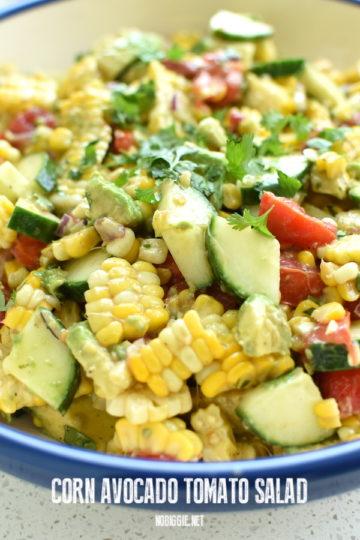Fresh Corn Salad | NoBiggie.net