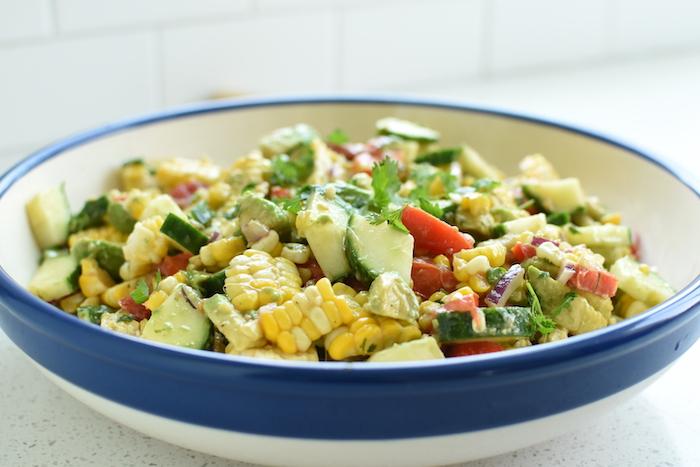 Summer Corn Salad | NoBiggie.net