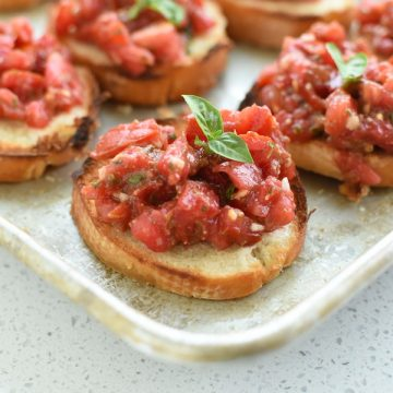 bruschetta recipe   NoBiggie.net