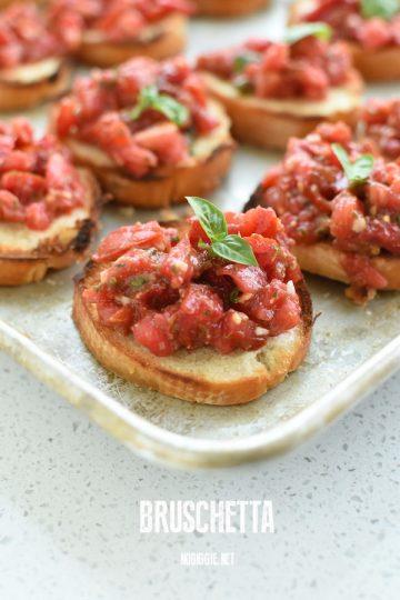 bruschetta recipe | NoBiggie.net