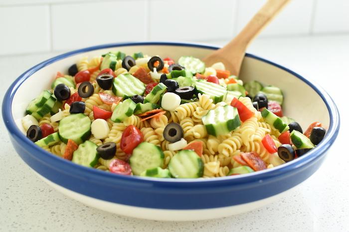 easy Italian pasta salad | NoBiggie.net