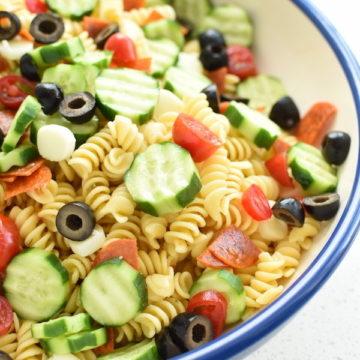 Italian pasta salad   NoBiggie.net