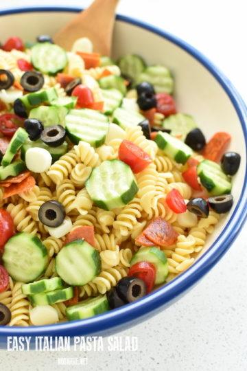 Italian pasta salad | NoBiggie.net