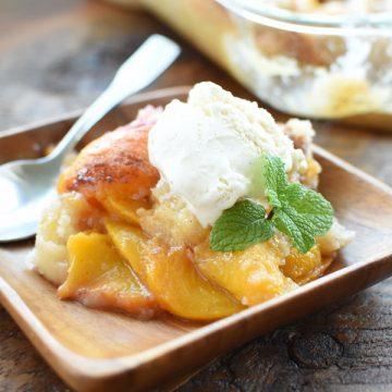 peach cobbler recipe   NoBiggie.net