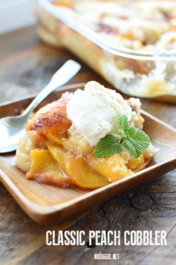 peach cobbler recipe | NoBiggie.net