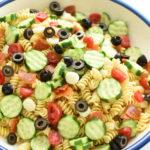 simple Italian pasta salad | NoBiggie.net