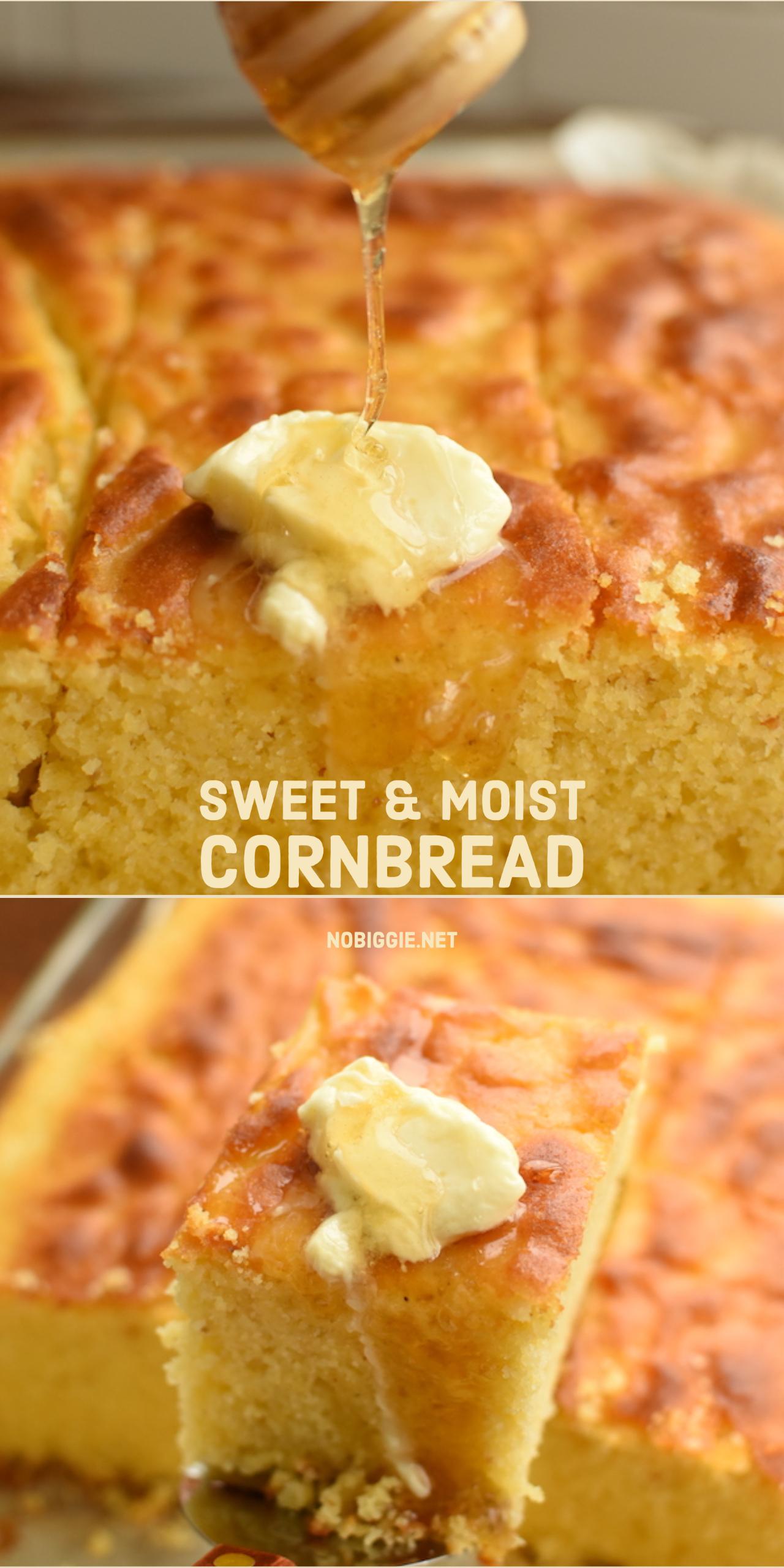sweet and moist cornbread | NoBiggie.net